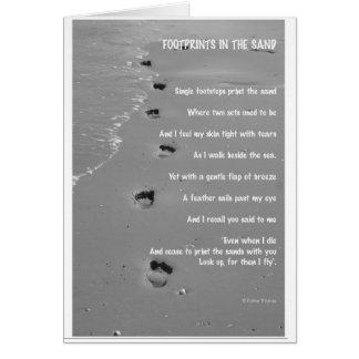 footprint card