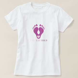Footprint Heel Heart Tee