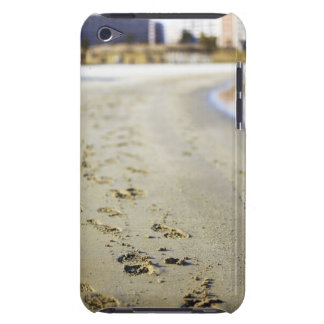 Footprint in coast. iPod touch cover