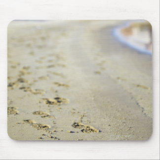 Footprint in coast. mouse mat