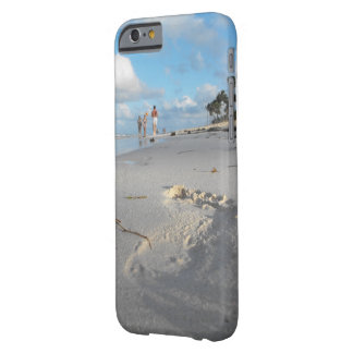 Footprint in the Sand Barely There iPhone 6 Case