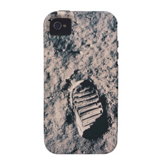 Footprint on Lunar Surface iPhone 4/4S Cover