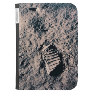 Footprint on Lunar Surface Kindle Keyboard Covers