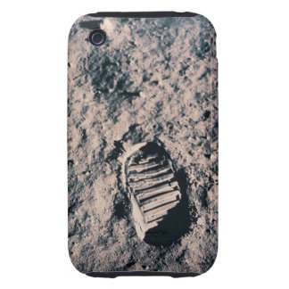 Footprint on Lunar Surface iPhone 3 Tough Covers