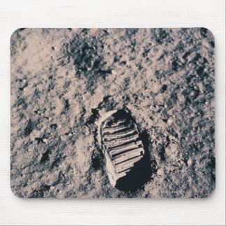 Footprint on Lunar Surface Mouse Mat