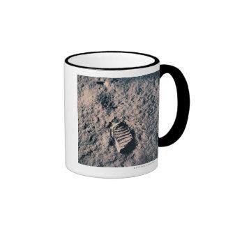 Footprint on Lunar Surface Coffee Mug