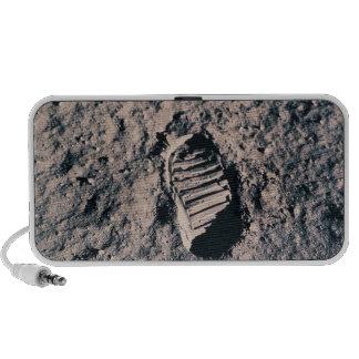 Footprint on Lunar Surface Travel Speakers