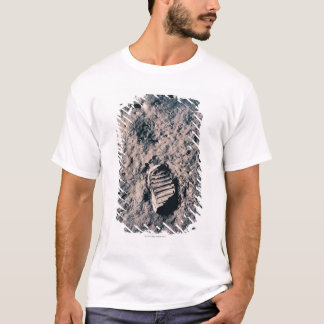 Footprint on Lunar Surface T-Shirt