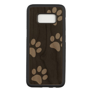 Footprint Samsung Galaxy S8 Slim Cherry Wood Case