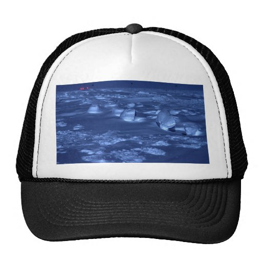 Footprints at the South Pole Trucker Hat