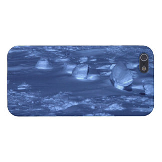 Footprints at the South Pole iPhone 5 Cases