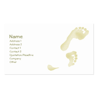 Footprints Business Cards
