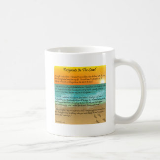 Footprints in the Sand Coffee Mug
