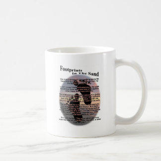 Footprints in the Sand... Coffee Mug