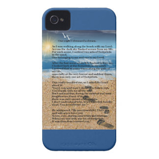 Footprints in the Sand iPhone 4 Case-Mate Case