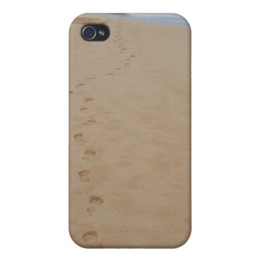 Footprints in the Sand iPhone Case Cases For iPhone 4
