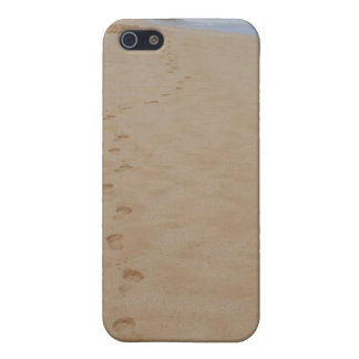Footprints in the Sand iPhone Case iPhone 5 Case