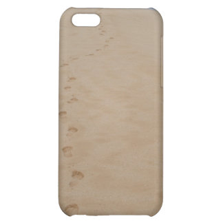Footprints in the Sand iPhone Case Case For iPhone 5C