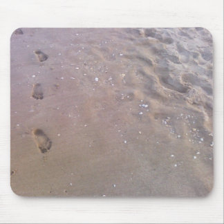 Footprints In The Sand Mouse Mat