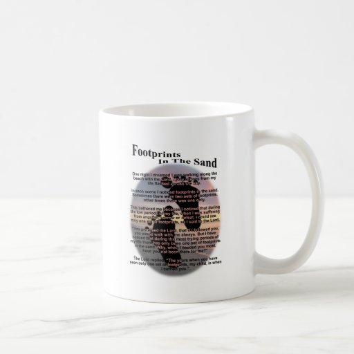 Footprints in the Sand... Mugs