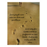 Footprints of Love Poster