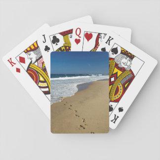 Footprints On Beach, Mabibi, Thongaland Deck Of Cards