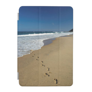 Footprints On Beach, Mabibi, Thongaland iPad Mini Cover