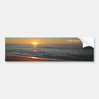 Footsteps by the Sunrise - Cabo Bumper Sticker