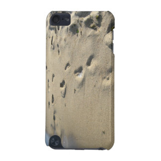 Footsteps on a sandy beach Maine iPod Touch 5G Cases