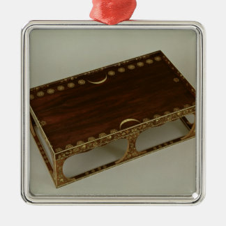 Footstool, with ivory inlay, Nara Christmas Ornament
