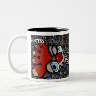 Footsy, jagiii.com Two-Tone coffee mug