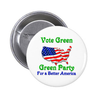 For a Better America 6 Cm Round Badge