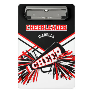 For a Cheerleader - Black, Red & White