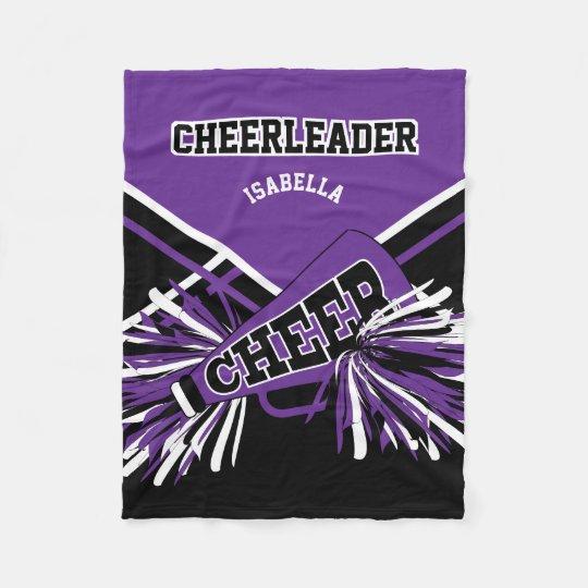 For a Cheerleader - Purple, White & Black
