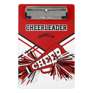 For a Cheerleader - Red, Black & White