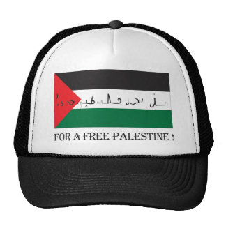 For a free palestine trucker hat