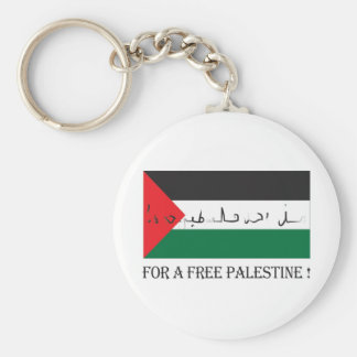 For a free palestine! key ring