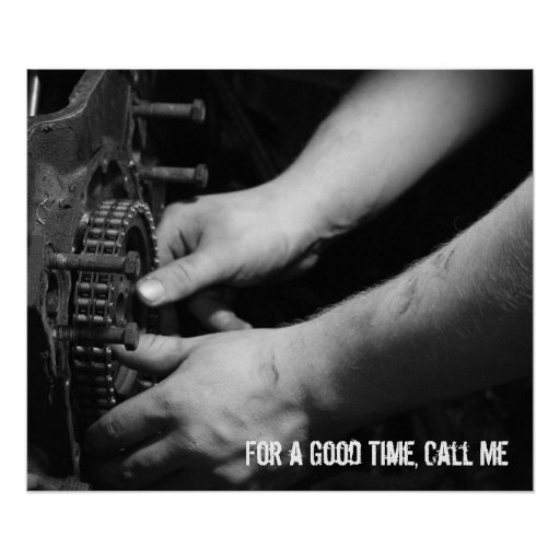 For a Good Time Call Me Poster