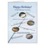 For a grandson, Fishing jokes birthday card