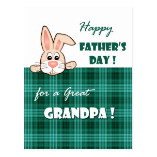 For a Great Grandpa on Father's Day Postcards