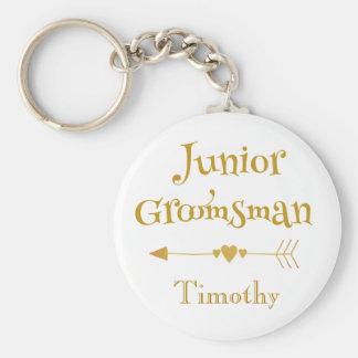 For a Junior Groomsman Key Ring