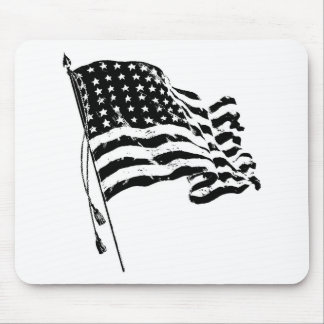 For a patriot from the USA: American Flag Mouse Pad