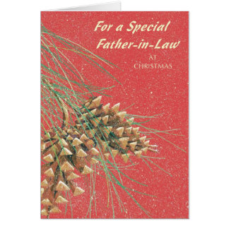 For a Special Father in Law At Christmas Card