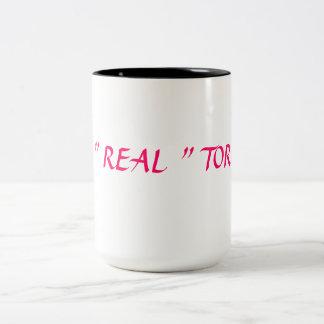 For a special home agent Two-Tone mug
