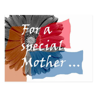 For a Special Mother Postcard