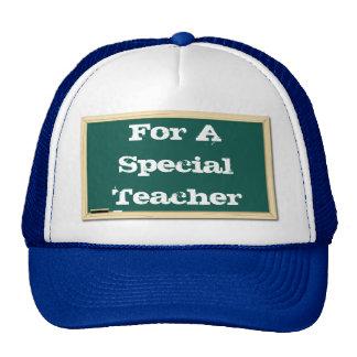 For A Special Teacher Chalkboard Hat