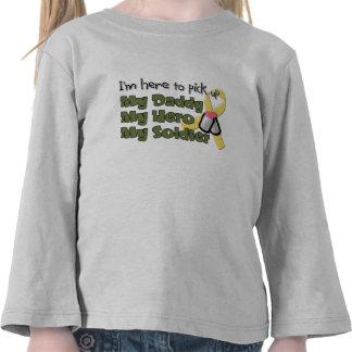 For Alisha I m Here to Pick up My Daddy My Hero T-shirts