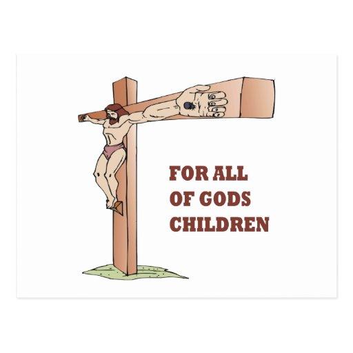 For All Gods Children Post Cards