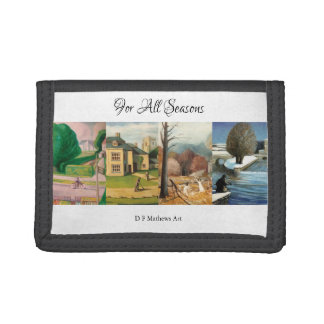 """""""For All Seasons"""" Wallet"""