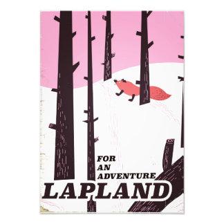 For an adventure Lapland vintage poster Art Photo